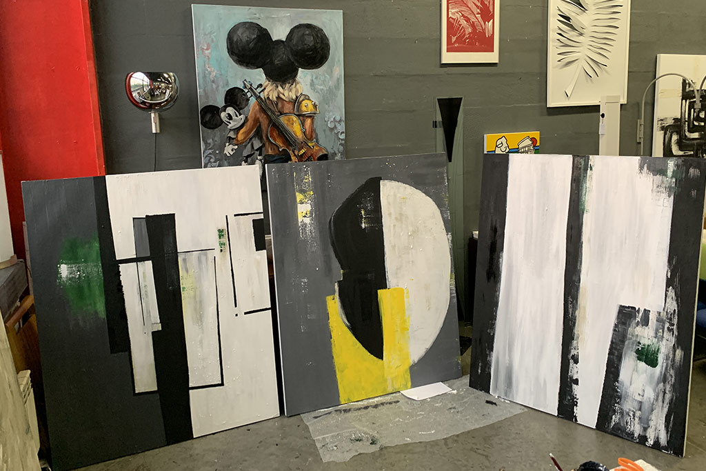 Выставка Марии Гедике, художник и дизайнер